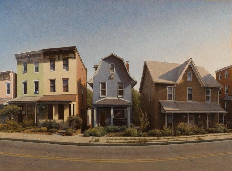 Bennett Vadnais Landscape Painting - The Little House