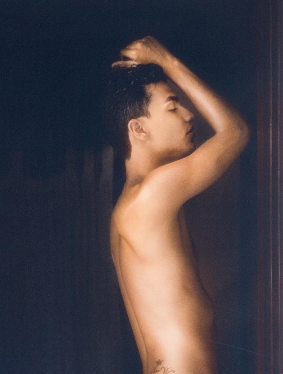 Boy nude golden Playboy Special