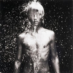 WET 11 (young nude Dutch boy being doused by droplets of water)