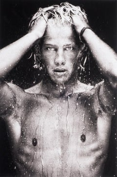 WET, Portrait (young nude Dutch boy is dripping wet and looking directly out)