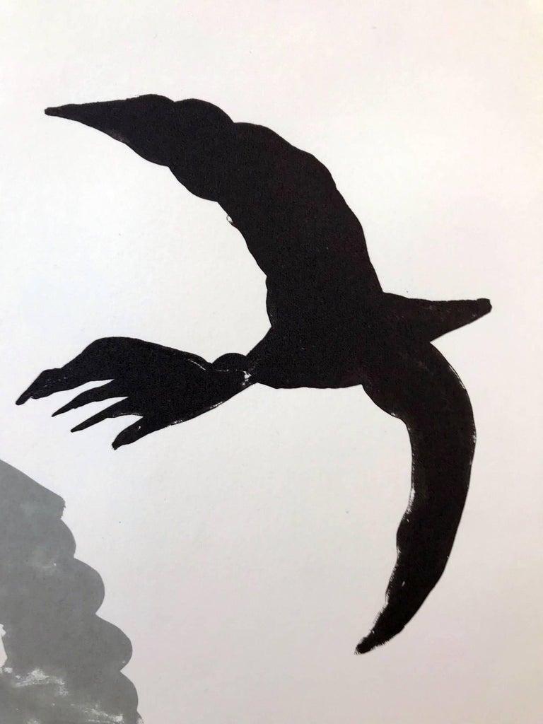 Black Bird - Print by Benny Andrews
