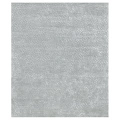 Hand Tufted silk rug - Benny Silver, Edition Bougainville