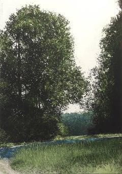 LUMIERE D'ETE, oil paint