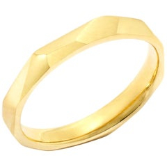 Ben's Band in 18 Karat Yellow Gold