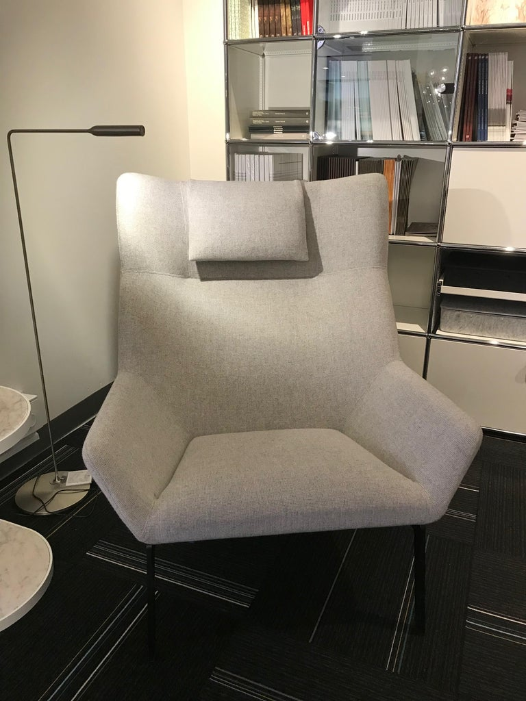A contemporary wing-back chair. Park's sculptural lines and inviting seat create a beautiful statement in any room. Park is a contemporary wing-back chair designed to be as comfortable as it is beautifully proportioned.