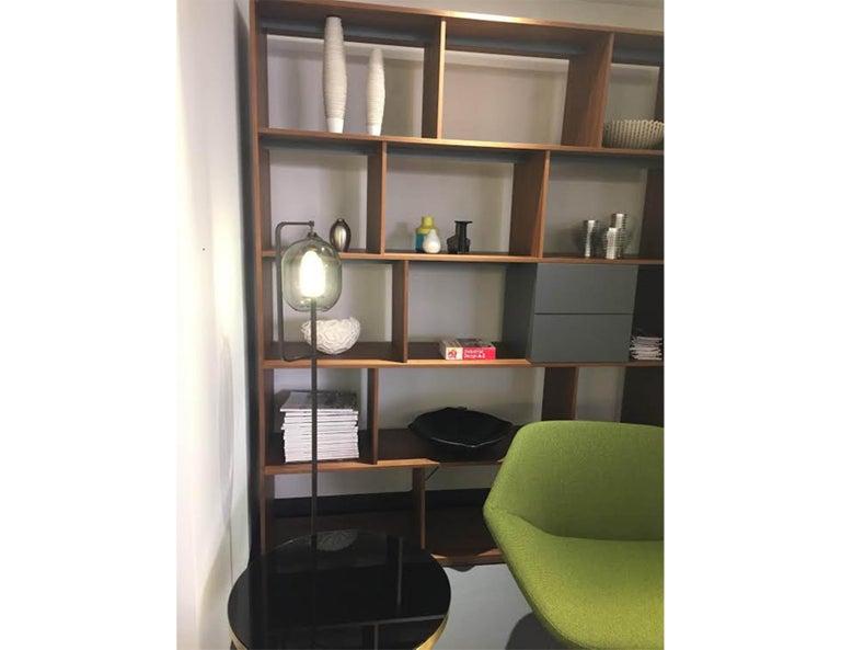 Modern Bensen Walnut Bookcase For Sale