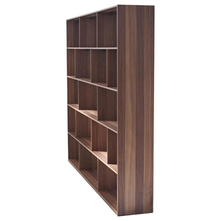 Bensen Walnut Bookcase For Sale