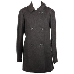 Bensimon Double Breasted Coat Jacket Size 38