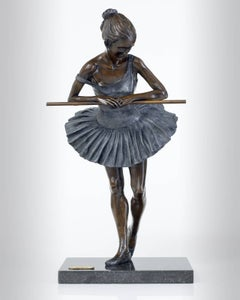 Contemporary  Solid Bronze sculpture of a ballerina 'Tutu' by Benson Landes