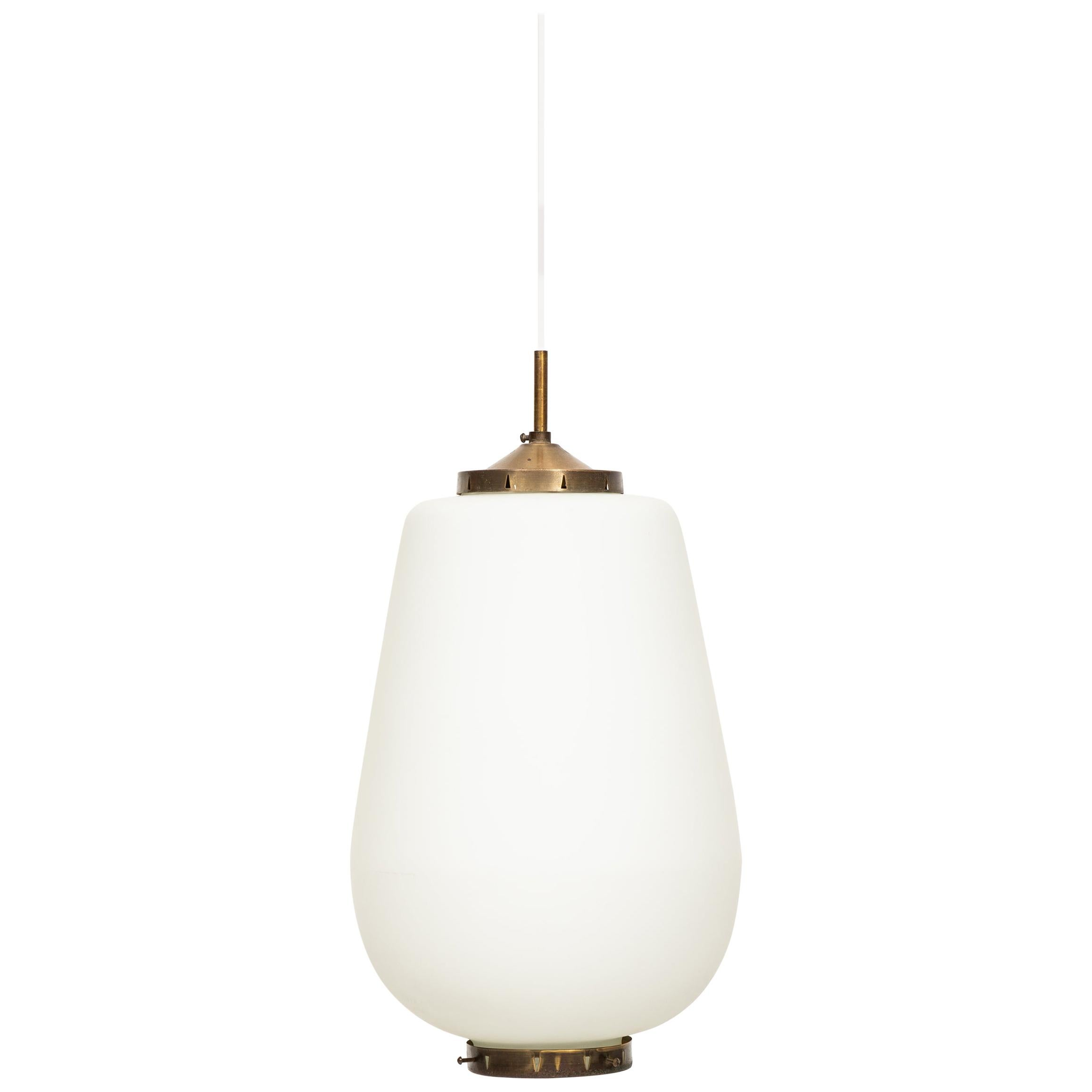 Bent Karlby Ceiling Lamp Produced by Lyfa in Denmark