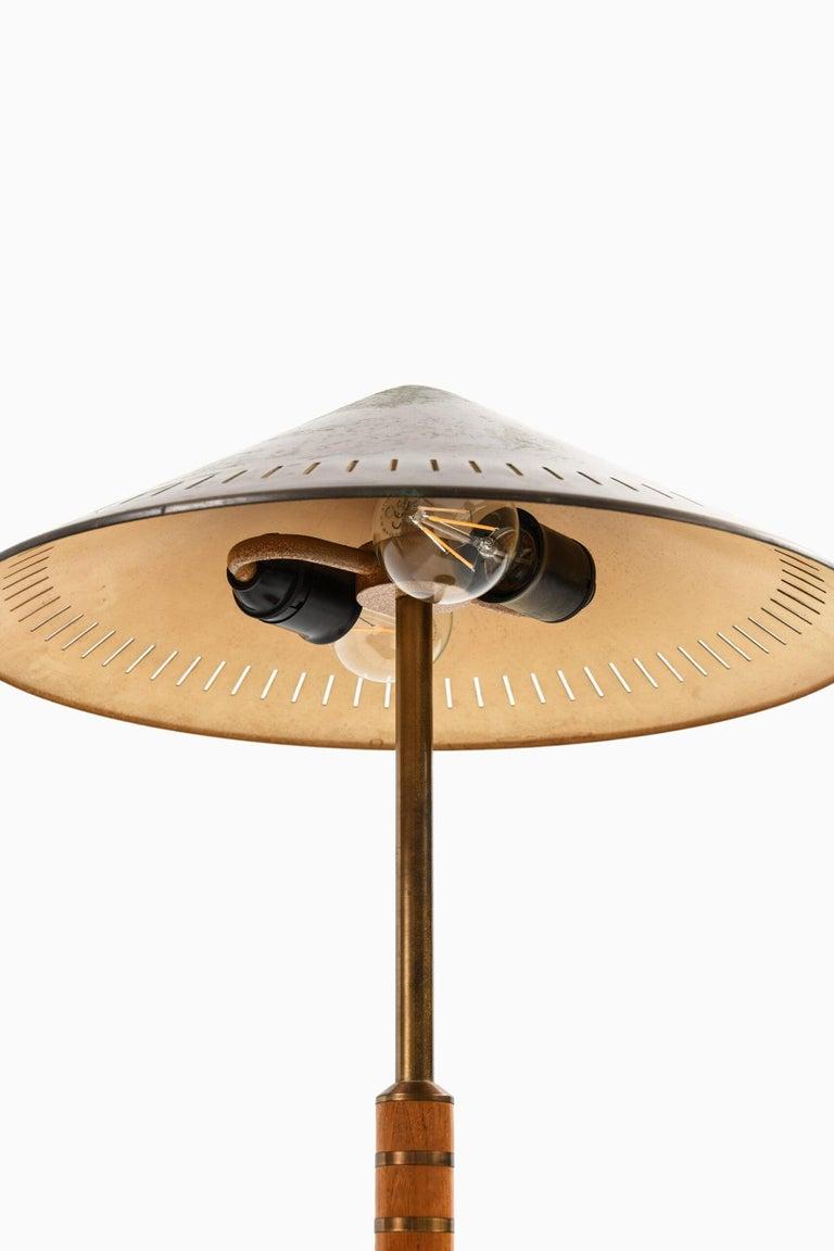 Scandinavian Modern Bent Karlby Table Lamp Produced by Lyfa in Denmark For Sale