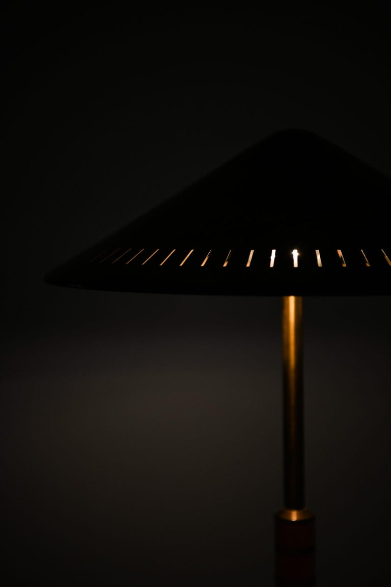 Mid-20th Century Bent Karlby Table Lamp Produced by Lyfa in Denmark For Sale