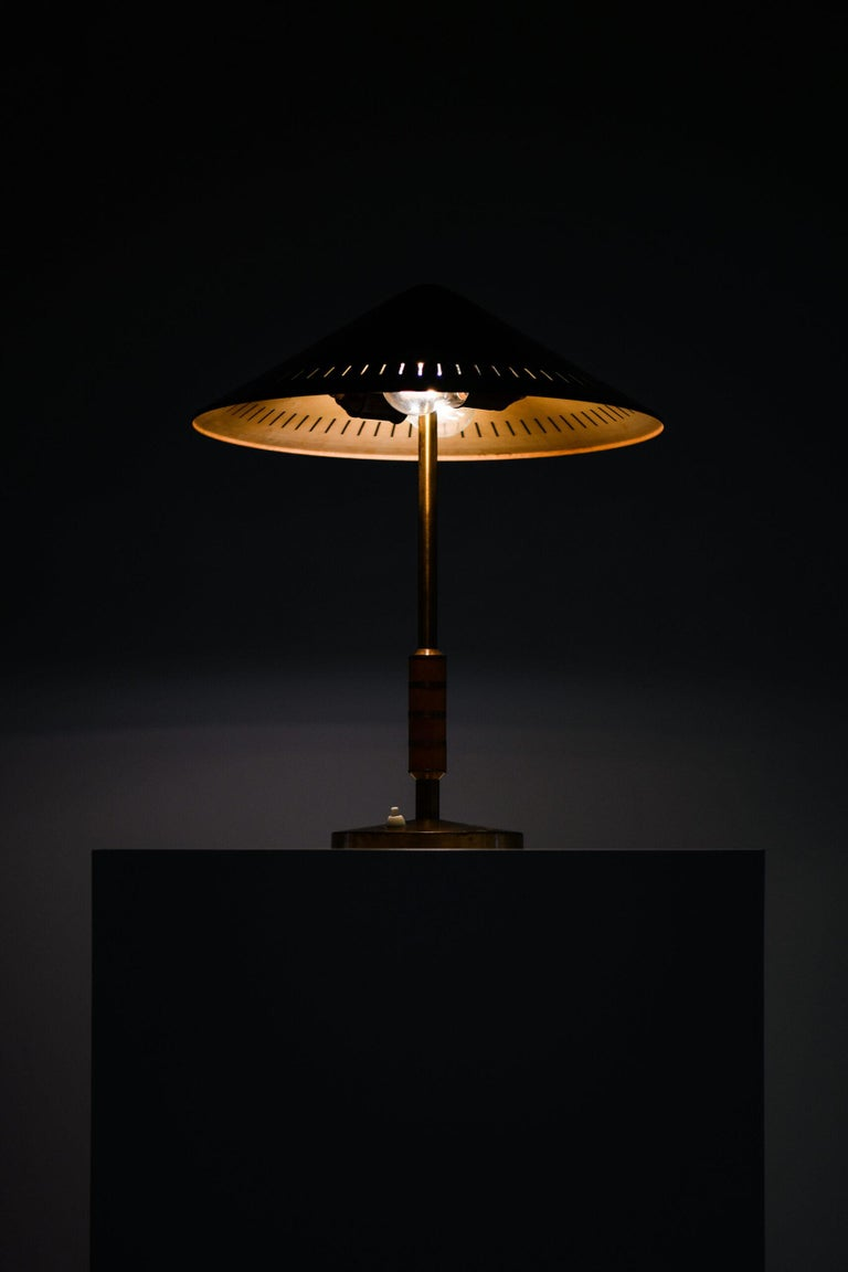 Bent Karlby Table Lamp Produced by Lyfa in Denmark For Sale 1