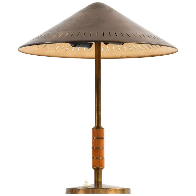 Bent Karlby Table Lamp Produced by Lyfa in Denmark For Sale