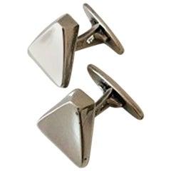 Bent Knudsen Cufflinks in Sterling Silver #38