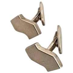 Bent Knudsen Sterling Silver Cufflinks
