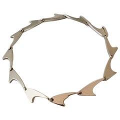 Bent Knudsen Sterling Silver Necklace