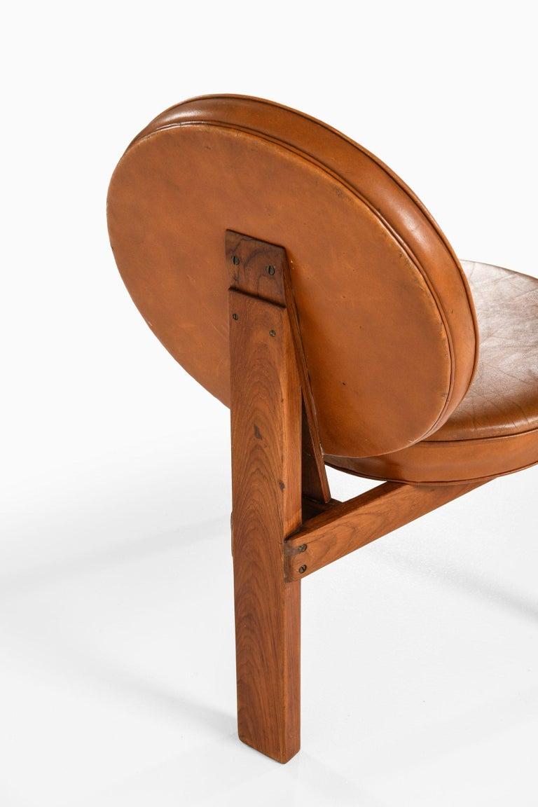 Scandinavian Modern Bent Møller Jepsen Easy Chair Produced by Sitamo Møbler in Denmark For Sale