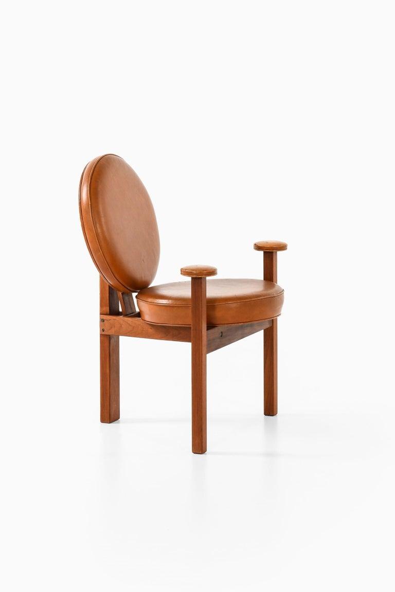 Danish Bent Møller Jepsen Easy Chair Produced by Sitamo Møbler in Denmark For Sale