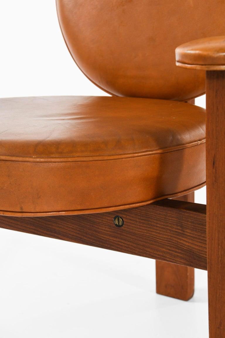 Bent Møller Jepsen Easy Chair Produced by Sitamo Møbler in Denmark In Good Condition For Sale In Malmo, SE