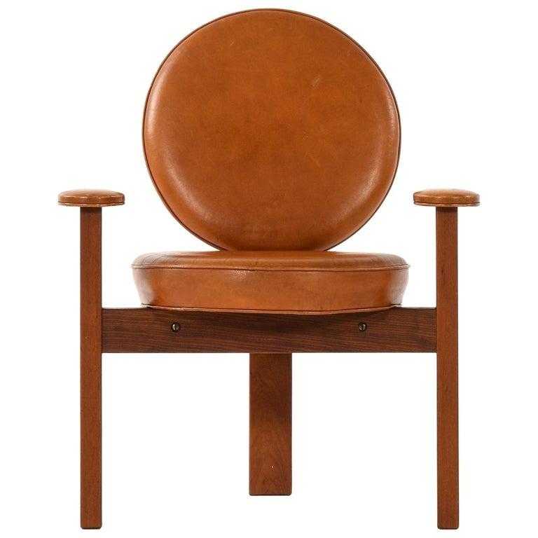 Bent Møller Jepsen Easy Chair Produced by Sitamo Møbler in Denmark For Sale