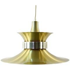 Bent Nysted for Lyskjær Danish Midcentury Pendant Light