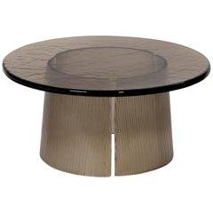 Bent Side Table, European, Minimalist, Grey, German, Table, Big