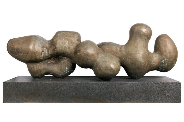 Bent Sørensen is best known as a sculptor but started out as a painter. Around 1948 he met the group of Danish and international artists connected to the Galerie Denise René in Paris. Sorensen sculptures come in a wide range of forms and materials.
