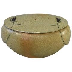Bente Hansen Covered Pottery Dish