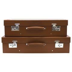 Bentley Classic Tan Leather Suitcase 35 x 56 cm
