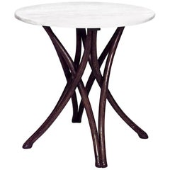 Bentwood '19th-20th Century' Walnut Stained Cafe Tables