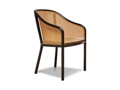 Bentwood and Cane Armchair by Ward Bennett for Brickel Associates
