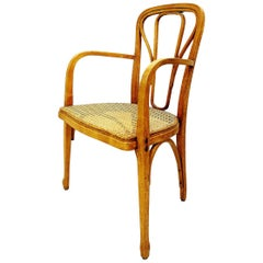 Bentwood and Cane Thonet Armchair
