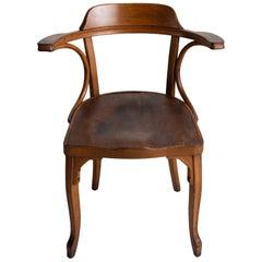 Bentwood Armchair by J.J. Kohn
