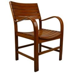 Bentwood Armchair by Torck, Belgium, 1950s