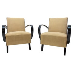 Bentwood Armchairs by Jindřich Halabala for UP Závody, 1950´S