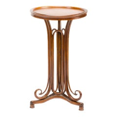 Bentwood Art Nouveau Reading Table by Thonet, Austria, circa 1900