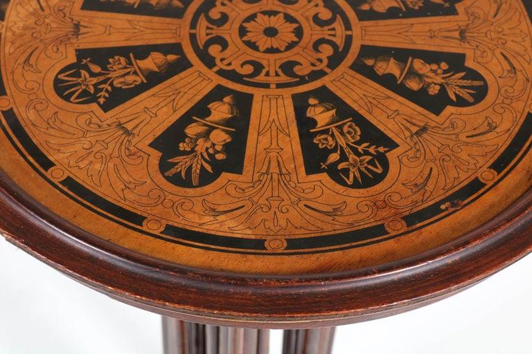 Bentwood Art Nouveau Reading Table by Thonet, Austria, 1880s For Sale 5