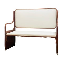 Bentwood Bench by Koloman Moser, Viennese Secession, circa 1900