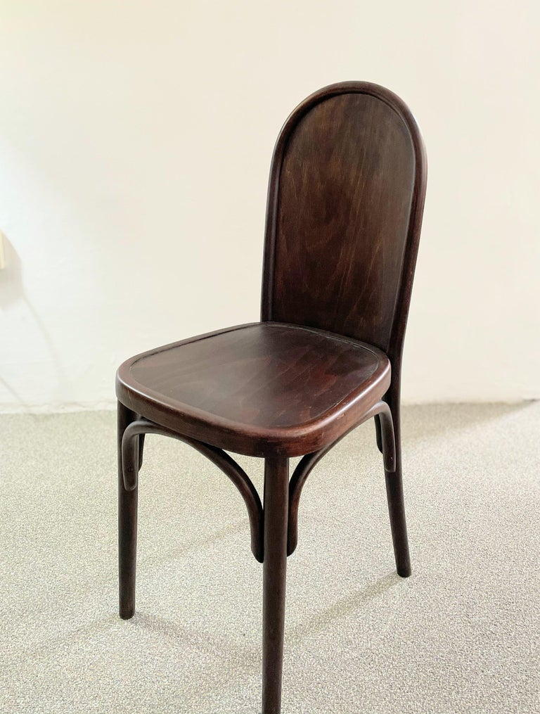 Vienna Secession Bentwood Chair Attributed to Josef Hoffmann, Austria, circa 1910 For Sale