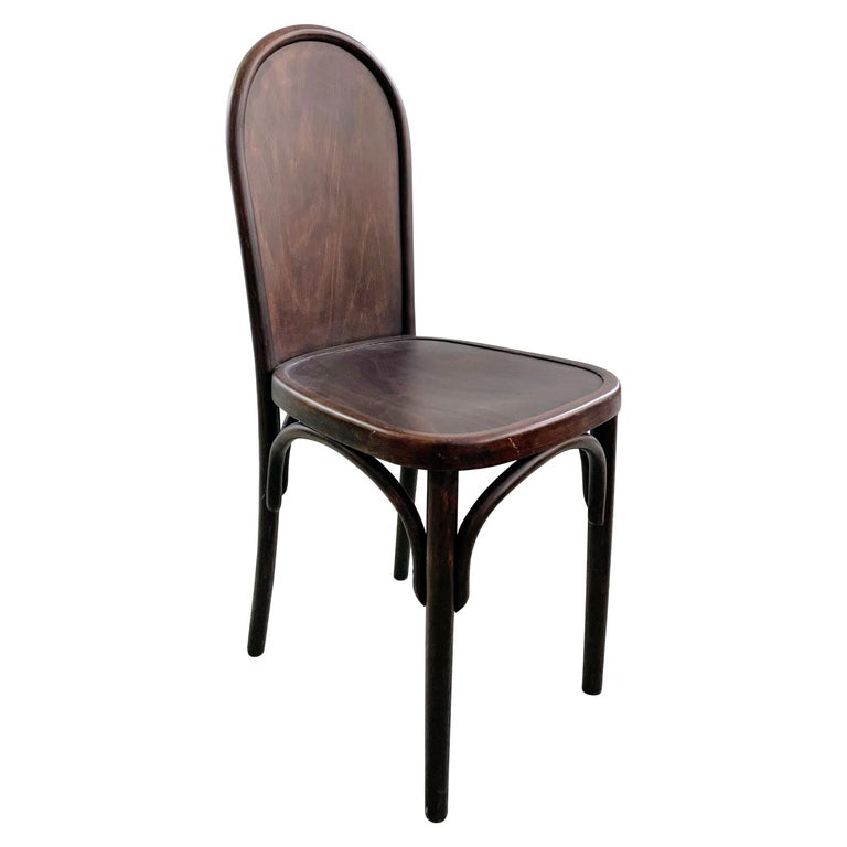 Bentwood Chair Attributed to Josef Hoffmann, Austria, circa 1910 For Sale