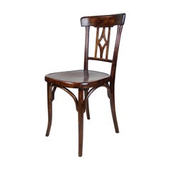 Bentwood Chair by Fischel Art Nouveau, Austria, circa 1905
