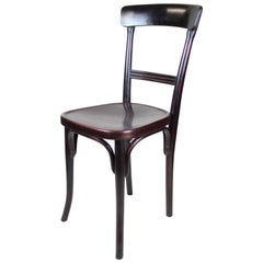 Bentwood Chair by Thonet Vienna Mahogany Toned, Austria, circa 1910