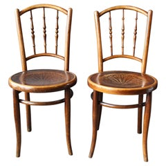 Bentwood Chair, Coffee House Chair, Jacob U. Josef Kohn Similar to Thonet
