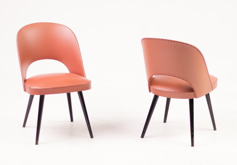 Austrian Bentwood Chairs by Oswald Haerdtl for Thonet For Sale