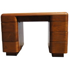Bentwood Desk by Paul Goldman for Plymold