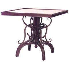 Bentwood Game Table