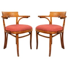 Bentwood Pine and Poplar Captains Chairs
