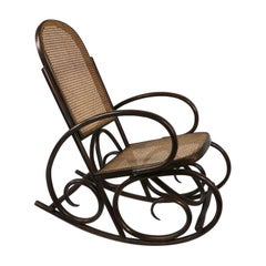 Bentwood Rocking Chair Made in Spain After Thonet
