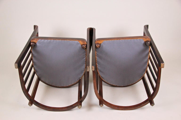 Bentwood Seating Set by Josef Hoffmann J&J Kohn, Austria, circa 1903 For Sale 4
